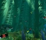 Abzu's underwater world.