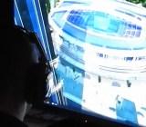 A futuristic sports arena in Ubisoft's Anno 2205.