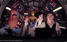 The cast of Star Wars: Rise Against the Empire for Disney Infinity 3.0.