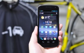 The Samsung Galaxy Nexus.