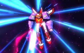 In Galak-Z, your spaceship transforms into a mech.