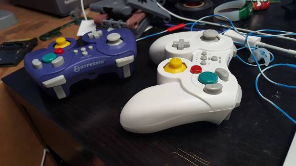 Hyperkin is calling it the ProCube controller.