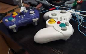 Hyperkin's ProCube controller.