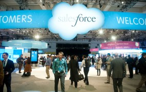 At Salesforce's 2013 Dreamforce conference in San Francisco.