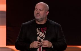 Amazon chief technology officer Werner Vogels speaks at the Amazon Web Services AWS Summit conference in New York on July 9.