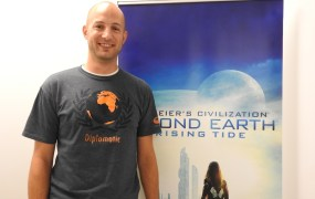 Andrew Frederiksen, lead game producer for Rising Tide expansion of Sid Meier's Civilization: Beyond Earth