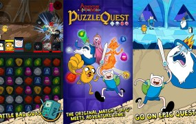 Puzzle Quest takes on Adventure Time.