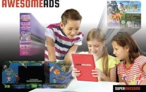 AwesomeAds from SuperAwesome shows approved ads to kids.