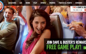 Dave & Buster's has both arcade machines and new mobile games on site.
