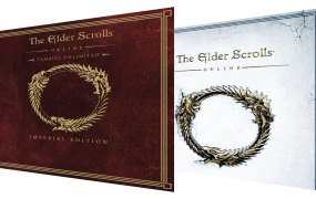 Cover box for The Elder Scrolls Online Tamriel Unlimited, Imperial and Standard Edition