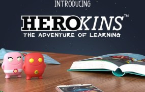 Herokins are wearable learning toys for kids.