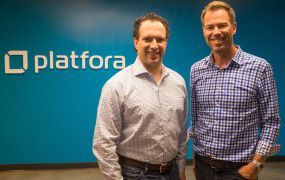 Platfora founder and executive chairman Ben Werther, left, and new chief executive Jason Zintak, right.