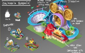 Concept art for Disney Magic Kingdoms