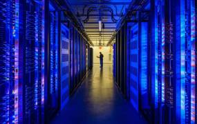 Facebook's Prineville, Oregon, data center.