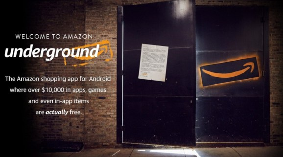 Amazon Underground app offers a new business model.