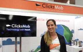 ClicksMob CEO Chen Levanon at Casual Connect in San Francisco.