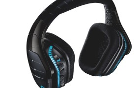 Logitech 933 Artemis Spectrum wireless gaming headset.
