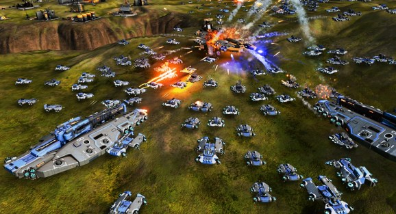 Ashes of the Singularity has incredible real-time 3D graphics.