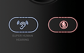 Turtle Beach's Super Human Hearing feature