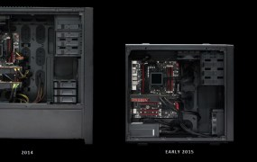 The AMD Radeon R9 Nano enables tiny desktops compared to 2014 models.