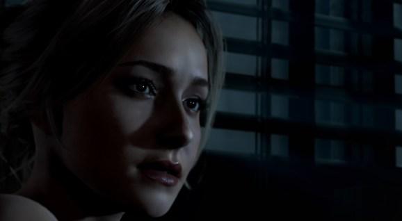 Samantha, played by Hayden Panettiere, in Until Dawn.