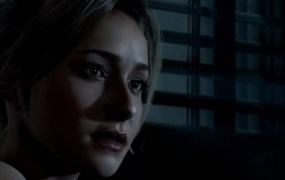 Samantha, played by Hayden Panettiere, in Until Dawn.