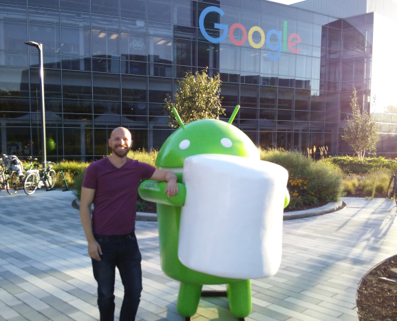 Android Marshmallow at Google headquarters in Mountain View, Calif.