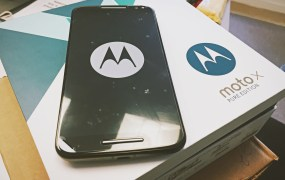 The Moto X Pure Edition.