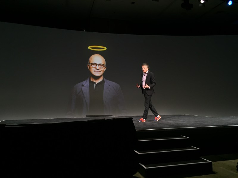 Aaron Levie pokes fun at Satya Nadella