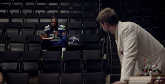 Richard Sherman stars in the latest Madden NFL commercial.