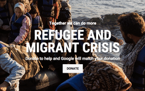 Google Refugee Relief screenshot