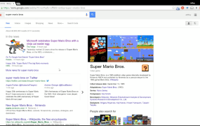 Super Mario Bros. on Google has a hidden secret. Can you find it?