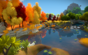 The Witness looks pretty stunning, and it'll be tough as well.