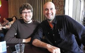 Discord's creators Jason Citron and Eros Resmini of Hammer & Chisel.