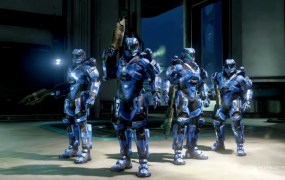 Halo 5: Guardians Arena combatants.