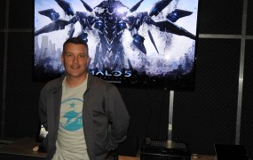 Josh Holmes, the executive producer at 343 Industries for Halo 5: Guardians.
