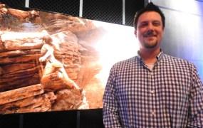 Noah Hughes, creative director for Rise of the Tomb Raider at Crystal Dynamics.
