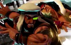 Rashid Street Fighter V reveal