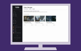 Twitch adds uploads.