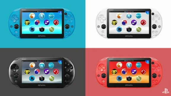 PlayStation Vita gets new colors.