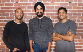 The Ampush founders: (from L to R) Chris Amos, Jesse Pujji, Nick Shah