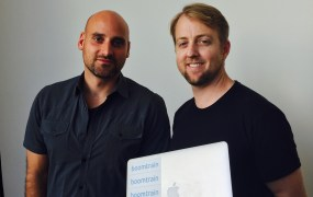 Boomtrain's co-founders  Christian Monberg, President & CTO (left), and Nick Edwards, CEO, (right).