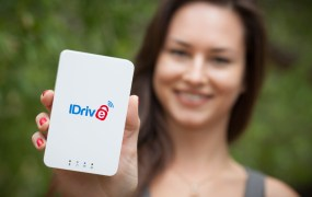 The IDrive Wi-Fi device.