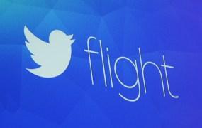 Twitter Flight sign