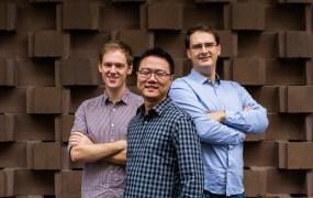 From left, Imply's Gian Merlino, Fangjin Yang, and Vadim Ogievetsky.