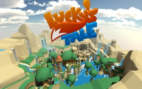 Lucky's Tale for the Oculus Rift.