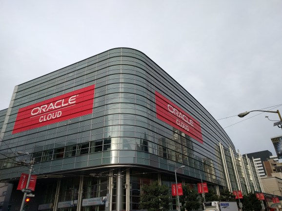 At the 2015 Oracle OpenWorld conference in San Francisco on Oct. 27.