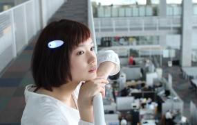 Ontenna, a new interface that allows sound to be felt from your hair