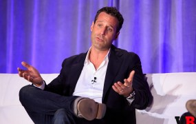 Jason Rubin, head of worldwide studios at Oculus VR, is hooked on VR.