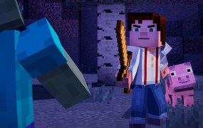 Minecraft finally gets a real story.